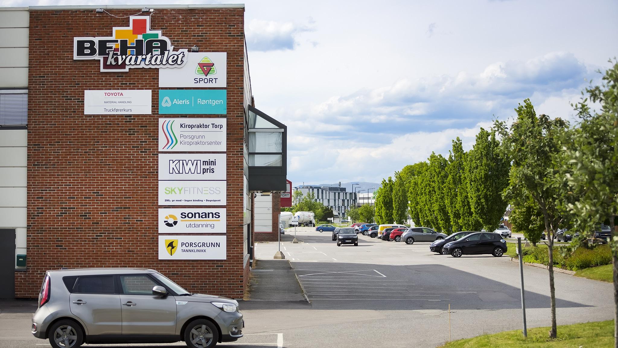 Butikklokale beha kvartalet C E Berg Hanssens gate porsgrunn 12
