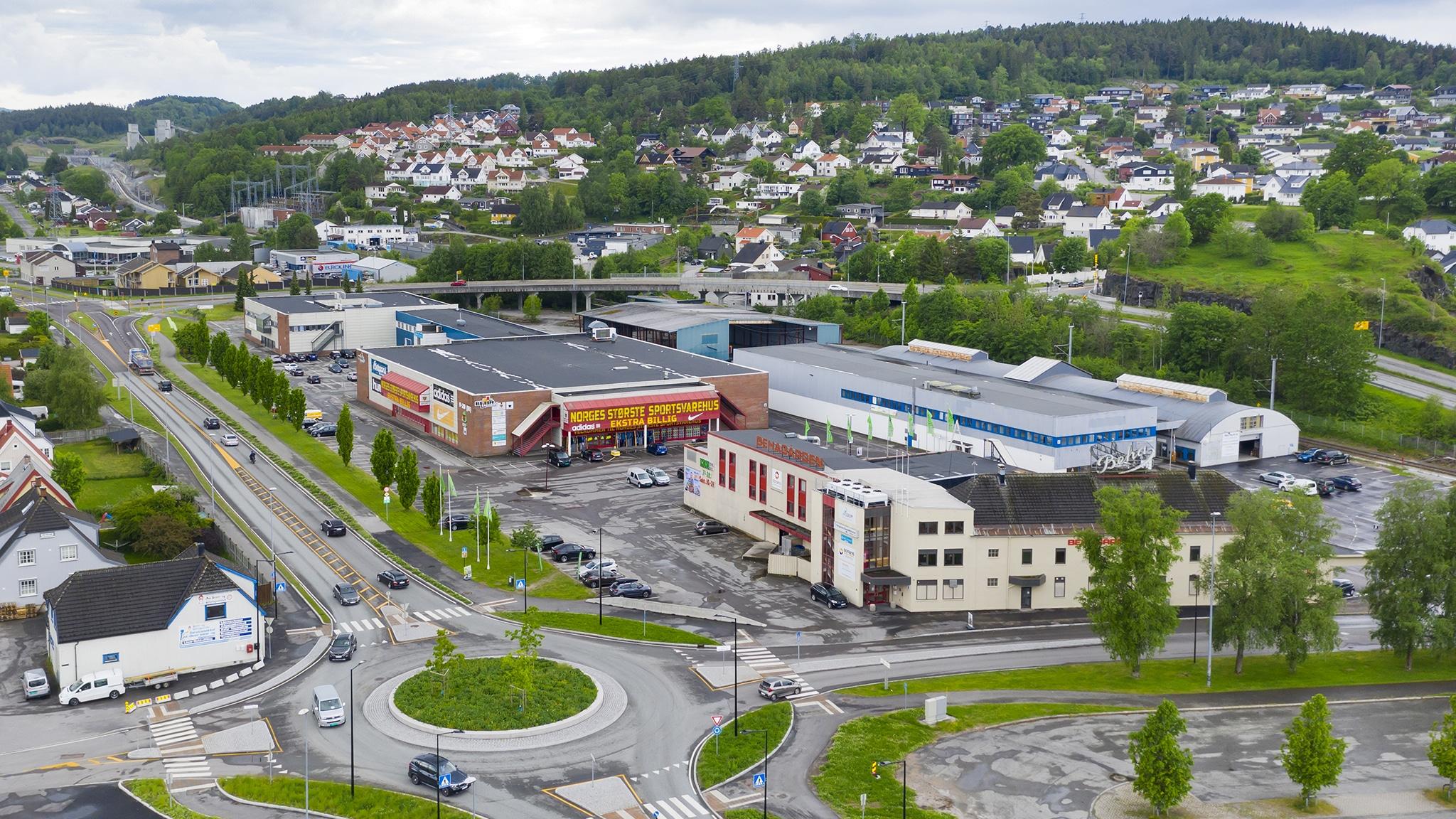 Butikklokale beha kvartalet C E Berg Hanssens gate porsgrunn 8